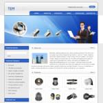 8116-零部件公司网站(英文)
